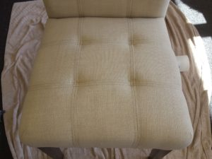 upholstered dining chairs in Koonawarra after cleaning by Chem_dry Excellence