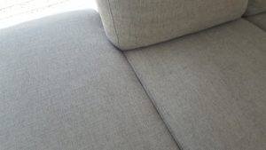 After cleaning the upholstered lounge in Horsley