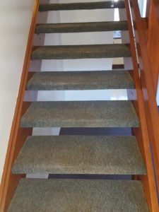 carpet in Corrimal - before Chem-Dry Excellence cleaning - 2